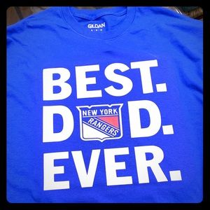 Best dad ever New York Rangers